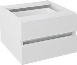 Sapho AVICE 2x zásuvka 45x30x48cm, bílá (AV061) AV061-3030