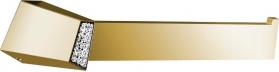 Sapho SOUL CRYSTAL držák ručníků otevřený, zlato 165063