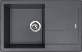 Granitový dřez Sinks AMANDA 780 Titanium TLAM78050072