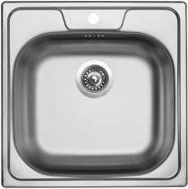 Nerezový dřez Sinks CLASSIC 480 V 0,5mm matný STSCLM4804805V