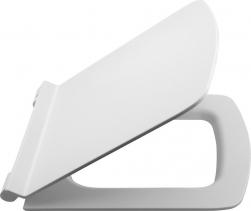 Isvea PURITY WC sedátko Slim, Soft Close, duroplast, bílá 40S40200I