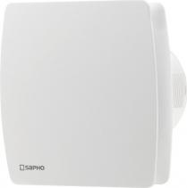 Sapho LEX koupelnový ventilátor axiální, 15W, potrubí 100mm, bílá LX101