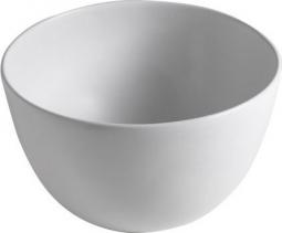 Sapho DOME keramické umyvadlo 44, 5x27x44, 5 cm, na desku, bez přepadu WH030