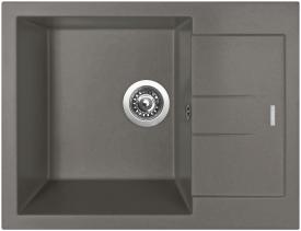 Granitový dřez Sinks AMANDA 650 Truffle TLAM65050054