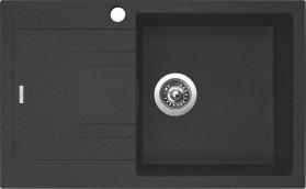 Granitový dřez Sinks LINEA 780 N Granblack PRAVÝ SIGLI780480N30P