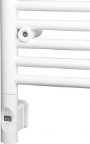 Sapho Elektrická topná tyč s termostatem a dálkovým ovládáním, 600 W, kulatá, bílá HVO-600