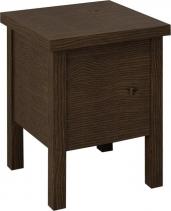 Sapho BRAND stolička s úložným prostorem 35x46x35cm, mořený smrk BA121