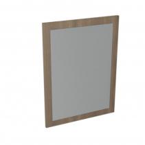 Sapho LARGO zrcadlo v rámu 600x800x28mm, ořech bruno LA613
