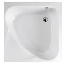 Polysan CARMEN hluboká sprchová vanička s konstrukcí, čtverec 90x90x30cm, bílá 29711