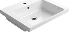 GSI NORM keramické umyvadlo 60x18x50 cm, bílá ExtraGlaze 8683111