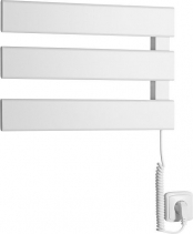 Aqualine ELVIS elektrický sušák ručníků, 457x342x55mm, 50W, bílá EB480