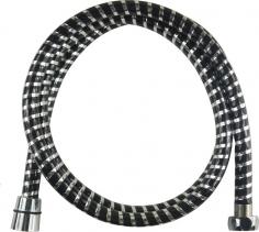 Mereo Sprchová hadice 150 cm, černá - chrom CB110B
