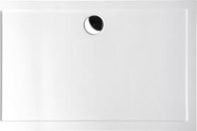 Polysan KARIA sprchová vanička z litého mramoru, obdélník 110x90x4cm, bílá 59111