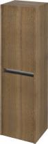 Sapho NIRONA skříňka vysoká 35x140x30cm, 2x dvířka, levá/pravá, dub Sherwood (NR352) NR350-1515