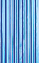 Aqualine Sprchový závěs 180x180cm, vinyl, modrá, pruhy ZV011