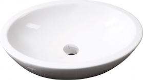 Isvea SISTEMA keramické umyvadlo oválné bez přepadu 60x42cm, bílá 10AR65060
