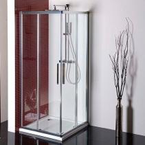 Polysan LUCIS LINE čtvercová sprchová zástěna 900x900mm, čiré sklo DL1615