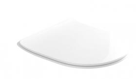 Kerasan FLO WC sedátko SLIM Soft Close, duroplast, bílá 319101