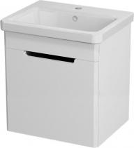 Sapho ELLA umyvadlová skříňka 46, 5x65x38, 5cm, 1xdvířka, levá, bílá 70055