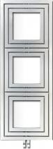 Enix LIBRA TRIAL otopné těleso 600x1620mm, 909 W, stříbrná strukturální L-616S