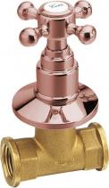 Reitano Rubinetteria ANTEA podomítkový ventil, studená, růžové zlato 3057C