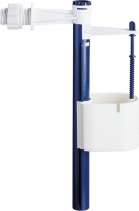 """Aqualine Napouštěcí ventil, boční, univerzální, 3/8"""" s redukcí 1/2"""" ONBP100"""
