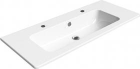 GSI PURA keramické umyvadlo 120x50 cm, 2 OTVORY, ExtraGlaze 8824211