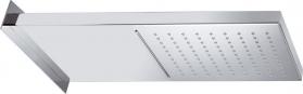 Sapho Hlavová sprcha s kaskádou, 500x200x30mm, leštěný nerez DC562
