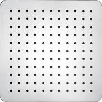 Sapho SLIM hlavová sprcha, čtverec 250x250mm, leštěná nerez MS564