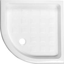 Kerasan RETRO keramická sprchová vanička, čtvrtkruh 90x90x20cm, R550 133901