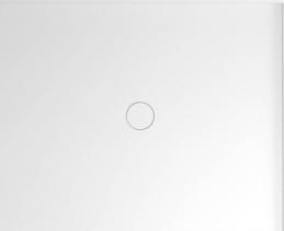Polysan MIRAI sprchová vanička z litého mramoru, obdélník 100x80x1, 8cm, pravá, bílá 73170