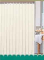 Aqualine Závěs 180x200cm, 100% polyester, krémová 0201104 K