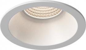 Sapho WICK podhledové hliníkové svítidlo 82 mm, GU10, max 35W, bílá mat LDD493