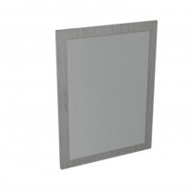 Sapho LARGO zrcadlo v rámu 600x800x28mm, dub stříbrný LA610