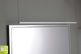 Sapho Led FROMT TOUCHLESS LED závěsné svítidlo 77cm 12W, bezdotykový sensor, hliník ED677