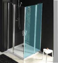 Gelco ONE sprchové dveře s pevnou částí 800 mm, čiré sklo GO4880
