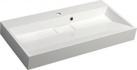 Sapho AMUR umyvadlo 90x46 cm, litý mramor, bílá 55032
