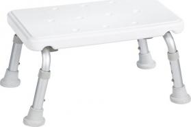 Ridder Stolička na nohy, výškově nastavitelná, bílá A0102601
