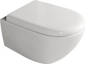Kerasan AQUATECH závěsná WC mísa, 36, 5x55cm, bílá 371501