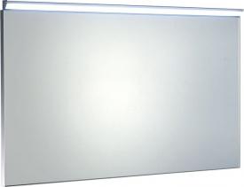 Sapho BORA zrcadlo v rámu 1000x600mm s LED osvětlením a vypínačem, chrom AL716