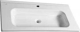 Sapho IDEAL keramické umyvadlo bez přepadu 100x45 cm ID100