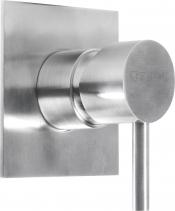 Sapho MINIMAL podomítková sprchová baterie, 1 výstup, nerez MI041