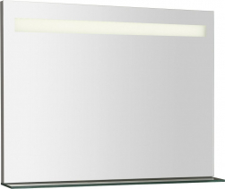 Sapho BRETO LED podsvícené zrcadlo s policí 800x608mm BT080