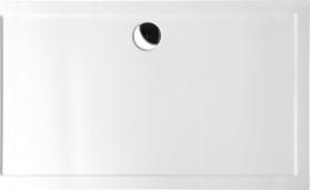 Polysan KARIA sprchová vanička z litého mramoru, obdélník 120x100x4cm, bílá 26611
