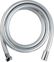 Sapho SOFTFLEX hladká sprchová plastová hadice, 200cm, metalická stříbrná/chrom 1208-14