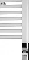 Enix Elektrická topná tyč s termostatem a dálkovým ovládáním, 300 W, D-tvar, chrom HVD-300C