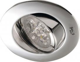 Sapho LUTO podhledové svítidlo výklopné, 50W, 12V, chrom 02591