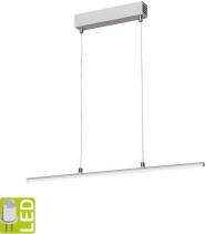 Sapho Led HASUN TOUCH LED závěsné svítidlo 125cm, 20W, 230V, dotykový sensor, hliník ED425