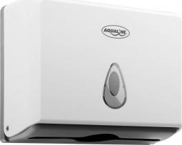 Aqualine Zásobník papírových ručníků 260x205mm, bílý 1319-81
