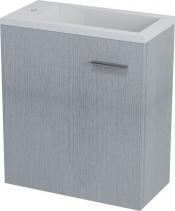 Sapho LATUS III umyvadlová skříňka 45x50x23, 2cm, dub stříbrný LT310